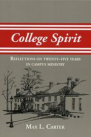 College spirit : reflections on twenty-five…