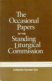 The Occasional Papers of the Standing…