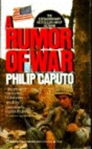 A Rumor of War av Philip Caputo