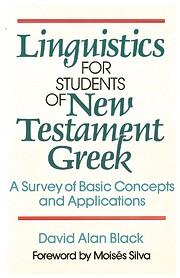Linguistics for Students of New Testament…