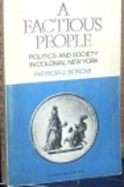 Factious People: Politics and Society in…