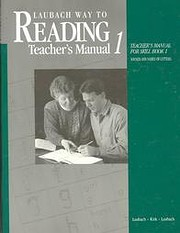 Laubach Way to Reading, Skill Book 1: Sounds…