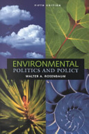 Environmental politics and policy by Walter…