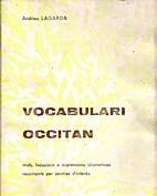 Vocabulari occitan : Mots, locucions e…