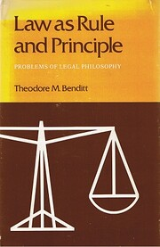 Law As Rule and Principle: Problems of Legal…