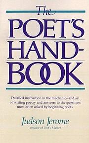 Poet's Handbook por Judson Jerome