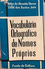 Vocabulário ortográfico de nomes próprios…