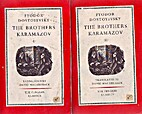 Brothers Karamazov, The Vol II. by Fyodor…
