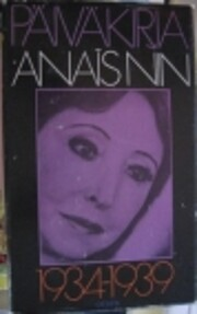 Päiväkirja 1934-1939 ; Nin –…