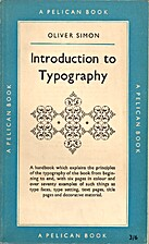 Introduction to typography by Oliver Simon