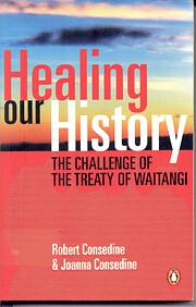 Healing Our History de Robert Consedine