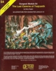 Dungeon Module S4. The Lost Caverns Of…