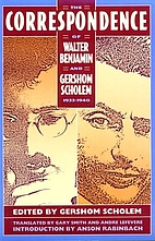 The correspondence of Walter Benjamin and…