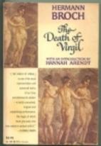 The Death of Virgil by Hermann Broch
