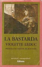 La bastarda af Violette Leduc