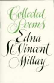 Collected Poems: Edna St. Vincent Millay de…