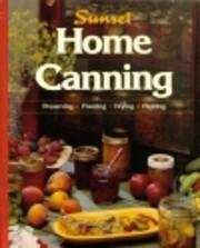 Home Canning af Sunset Books