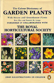 The Colour Dictionary of Garden Plants;…