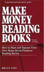 Make Money Reading Books de Bruce Fife