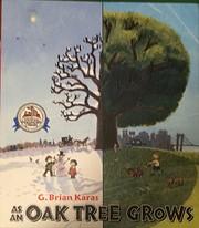 as an oak tree grows por G Brian Karas