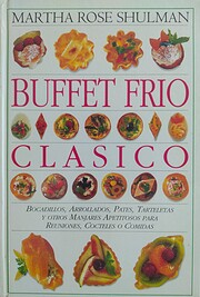 Buffet frío clásico por Martha Rose…