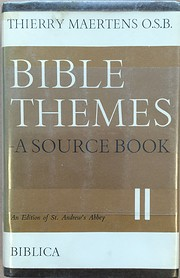 Bible themes : a source book: volume two de…