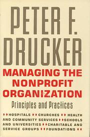 Managing the non-profit organization :…