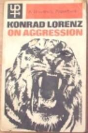 On aggression av Konrad Lorenz