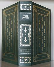 The history of Tom Jones, a foundling de…