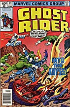 Ghost Rider # 39 by Michael Fleisher