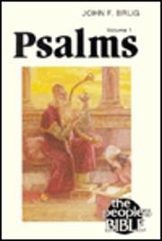 Psalms II (People's Bible) af John F. Brug