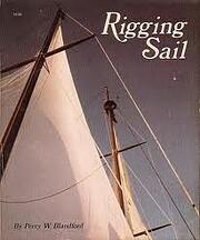 Rigging sail by Percy W. Blandford