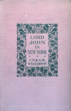 Lord John in New York by A. M. Williamson