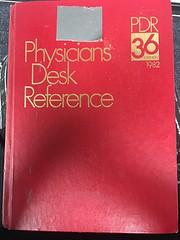 Physicians' Desk Reference: 36th Edition,…