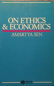On Ethics and Economics – tekijä: Amartya…