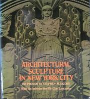 Architectural sculpture in New York City de…