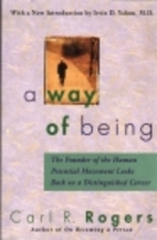 A Way of Being by Carl R. Rogers