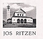 JOS RITZEN (architect) by FRANS DE BLAUWE