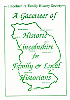 A Gazetteer of Historic Lincolnshire for…