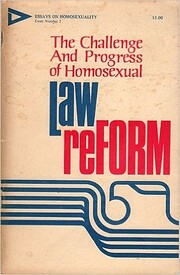 The Challenge and Progress of Homosexual Law…
