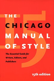 The Chicago Manual of Style af University of…