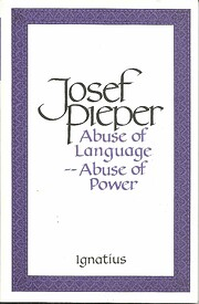 Abuse of Language - Abuse of Power –…
