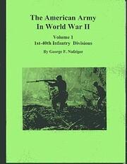 The American Army in World War II : Volume…