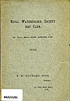 Royal Watercolour Society Art Club by F.W.…