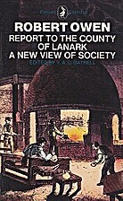 A new view of society; and, Report to the…