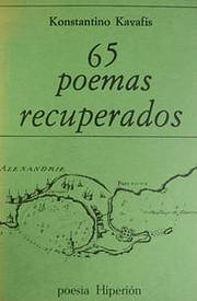 65 poemas recuperados por Konstantinos…