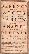 A Defence of the Scots abdicating Darien…