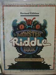 The monster riddle book de Jane Sarnoff