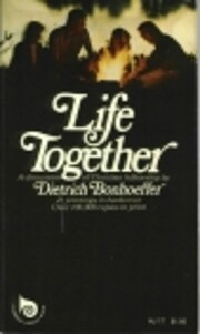 Life Together av Dietrich Bonhoeffer