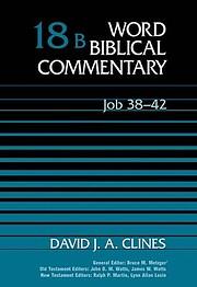 Job 38-42, Volume 18B (Word Biblical…